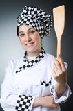 Pretty cook Royalty Free Stock Photography