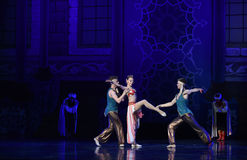 "Pretty and coquettish coquettish- ballet ""One Thousand and One Nights"" Royalty Free Stock Photography"