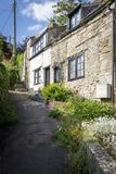 Pretty Cotswold Cottages Stock Photos