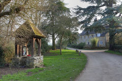 Pretty Cotswold village Stock Photography
