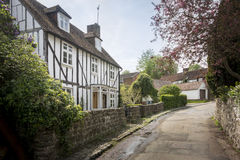 Pretty cottage in Kent, UK Stock Photos