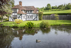 Pretty cottage in Kent, UK royalty free stock images
