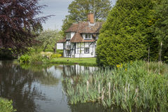 Pretty cottage in Kent, UK Royalty Free Stock Photos