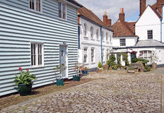 Pretty cottage mews Stock Photos