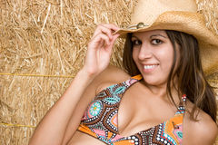 Pretty Country Girl Royalty Free Stock Photography