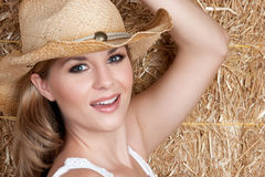 Pretty Country Girl Royalty Free Stock Photos