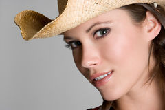 Pretty Country Girl Royalty Free Stock Images