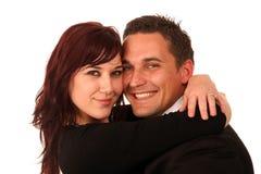 Pretty Couple in Love Stock Photo