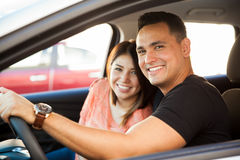 Pretty couple in love Royalty Free Stock Images
