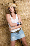 Pretty Cowgirl Royalty Free Stock Image