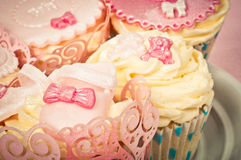 Pretty cupcakes Royalty Free Stock Photos