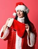 Pretty cute sexy santa girl Royalty Free Stock Photography