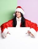 Pretty cute sexy santa girl Royalty Free Stock Photos