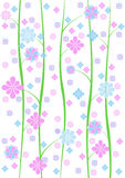 Pretty dainty wallpaper background Royalty Free Stock Image