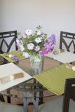 Pretty dinning room Stock Image