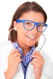 Pretty doctor Stock Image