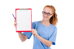 Pretty doctor Royalty Free Stock Photo