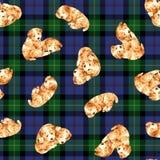 Pretty dog pattern Royalty Free Stock Image