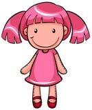 Pretty doll Stock Image