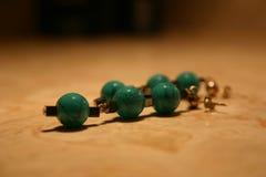 Pretty Earrings. Native american earrings royalty free stock images