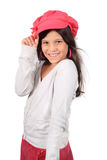 Pretty eight year old girl Stock Photo