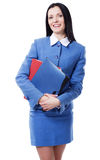 Pretty elegant businesswoman Royalty Free Stock Photography