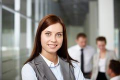 Pretty employer Royalty Free Stock Photo