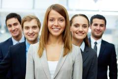 Pretty employer Royalty Free Stock Photos
