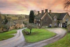 Pretty English Village Stock Image