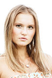 Pretty fair-haired girl Royalty Free Stock Image