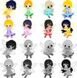 The pretty fairies Stock Photo