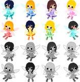 The pretty fairies Stock Image