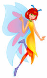 Pretty fairy Stock Photos
