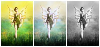 Pretty Fairy Royalty Free Stock Photography