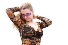 Pretty fashion girl Royalty Free Stock Photos