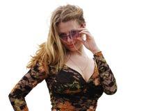 Pretty fashion girl Royalty Free Stock Photography