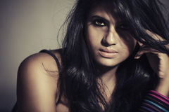 Pretty Fashion Indian model Stock Photography