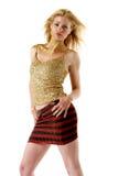 Pretty fashion model Royalty Free Stock Photography