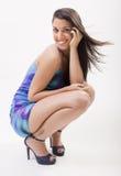Pretty fashion woman Stock Images