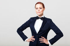 Pretty fashion woman Stock Photo