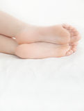 Pretty feet Stock Photo