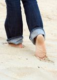 Pretty feet Royalty Free Stock Photography