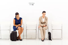 Applicants before interview Stock Photography