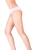 Pretty female body in underwear Stock Photos