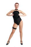 Pretty female dancer Royalty Free Stock Photo