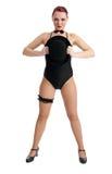 Pretty female dancer Royalty Free Stock Image