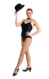 Pretty female dancer Royalty Free Stock Photography