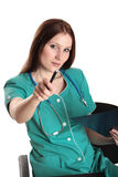 Pretty female doctor Royalty Free Stock Image