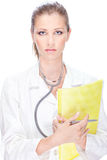 Pretty female doctor Royalty Free Stock Images