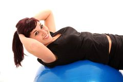 Pretty Fitness Girl royalty free stock images